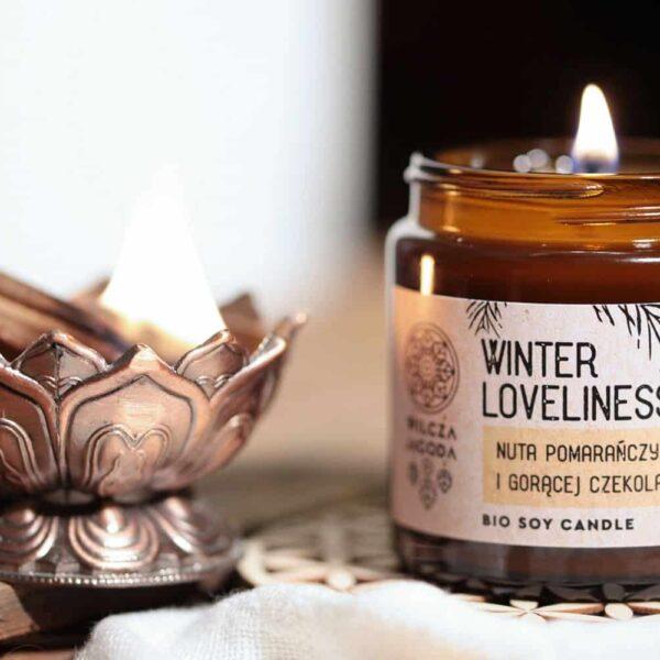 Winter Loveliness - Świeca z wosku sojowego