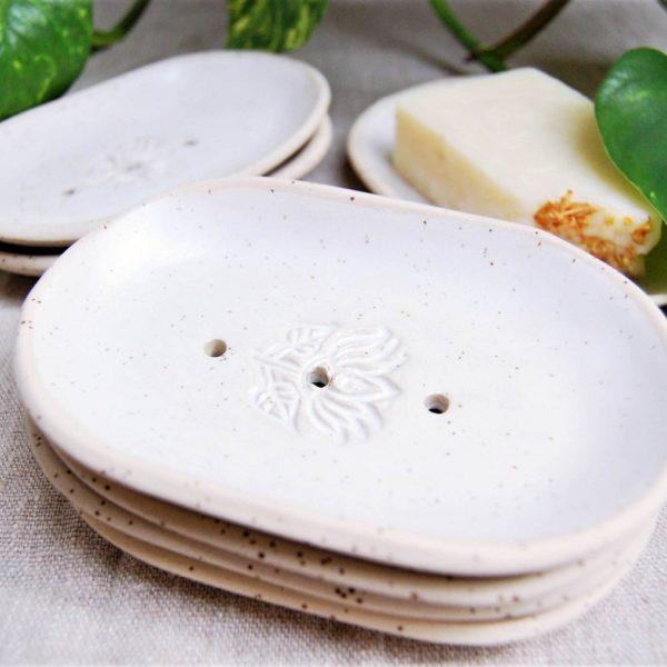 Ceramiczna Mydelnica Kwiat